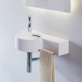 Laufen VAL Handwaschbecken weiß, 1 Hahnloch