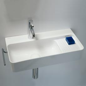 LAUFEN VAL Waschtisch Compact weiß mit Clean Coat, mit 1 Hahnloch, mit Überlauf, ungeschliffen