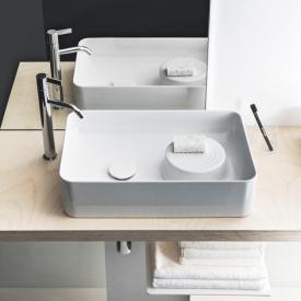 LAUFEN VAL Waschtisch-Schale weiß, ohne Hahnloch, mit Überlauf