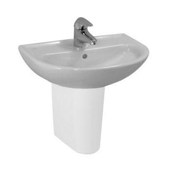 Laufen Pro B Handwaschbecken weiß, mit Clean Coat, mit Überlauf