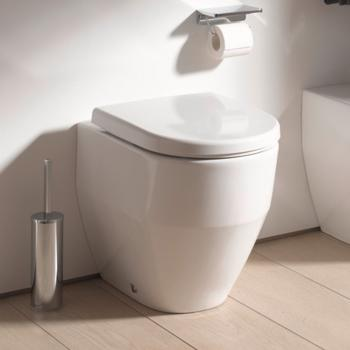 Laufen Pro Stand-Tiefspül-WC, spülrandlos weiß, mit Clean Coat