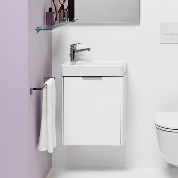 Laufen Base für Pro S Handwaschbeckenunterschrank mit 1 Tür Front weiß matt / Korpus weiß matt