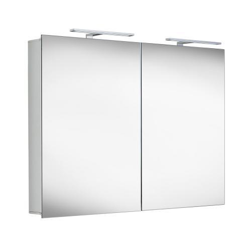 Matedo Entry SPS Spiegelschrank mit doppelter LED-Beleuchtung