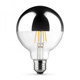 MÜLLER-LICHT LED Filament Globe Kopfspiegellampe E27
