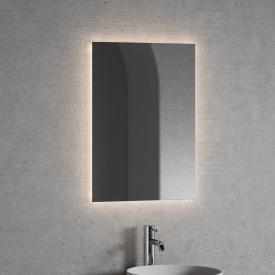 neoro n20 Lichtspiegel eckig mit indirekter LED-Beleuchtung