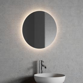 neoro n20 Lichtspiegel rund mit indirekter LED-Beleuchtung