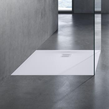 neoro n50 Rechteck-Duschwanne weiß matt