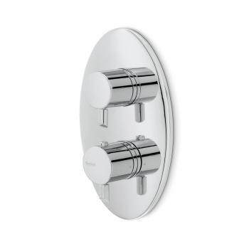 newform x-touch 64364 Unterputz Thermostat chrom