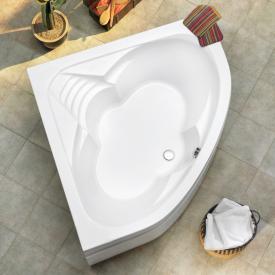 Ottofond Cascade Eck-Badewanne mit Fußgestell