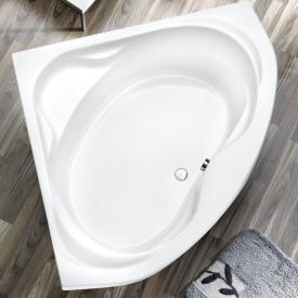 Ottofond Madras Eck-Badewanne, Einbau mit Fußgestell