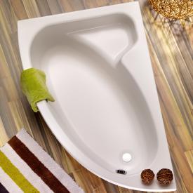 Ottofond Salinas Eck-Badewanne, Einbau mit Fußgestell