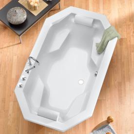 Ottofond Sumatra Achteck-Badewanne, Einbau mit Fußgestell