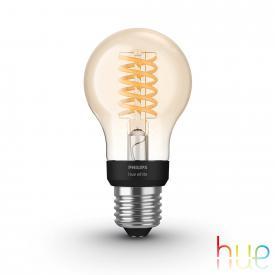 PHILIPS Hue White Filament LED E27 Classic, 9 Watt