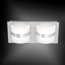 Paul Neuhaus Klara LED Deckenleuchte mit Dimmer, 2-flammig