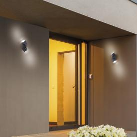 Paul Neuhaus Ryan LED Wandleuchte mit Bewegungsmelder, 2-flammig
