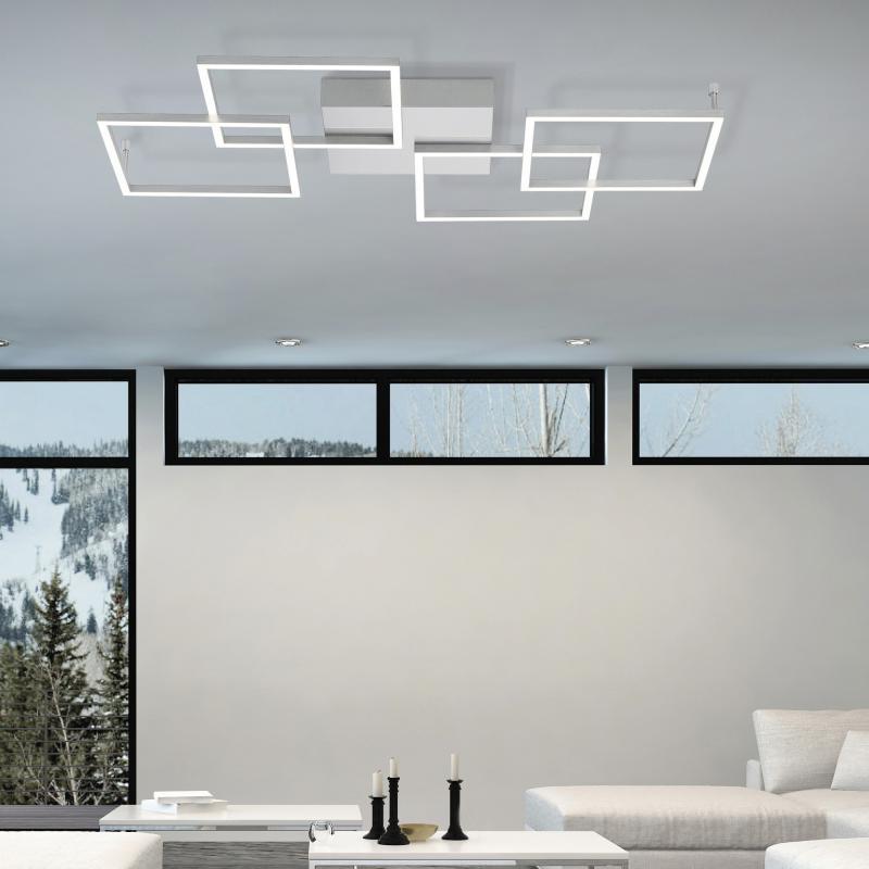 Paul Neuhaus Inigo LED Deckenleuchte mit Dimmer   8190 55   Emero.de