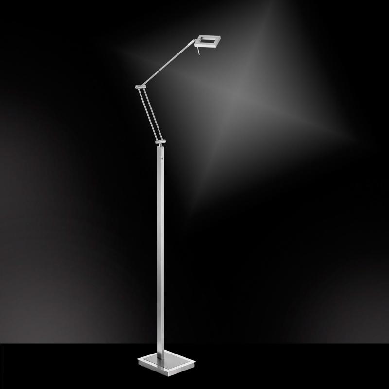Paul Neuhaus Inigo LED Stehleuchte mit Dimmer   434 55   Emero.de