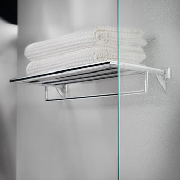 Pomdor Kubic Class Handtuchablage zum Schrauben