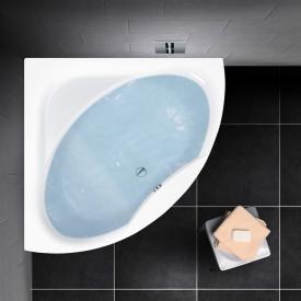 PREMIUM 100 Eck-Badewanne, Einbau Länge: 140 cm, Breite: 140 cm, Innentiefe: 46 cm