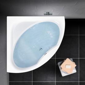 PREMIUM 100 Eck-Badewanne Länge: 150 cm, Breite: 150 cm Innentiefe: 46 cm