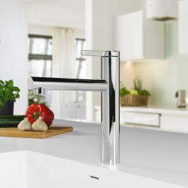 PREMIUM 100 Einhebel-Küchenarmatur mit ausziehbarem Auslauf