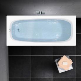 PREMIUM 100 Mono Rechteck-Badewanne, Einbau Länge: 170 cm, Breite: 75 cm, Innentiefe: 40 cm