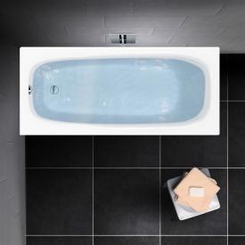 PREMIUM 100 Mono Rechteck-Badewanne Länge: 140 cm, Breite: 70 cm, Innentiefe: 40 cm