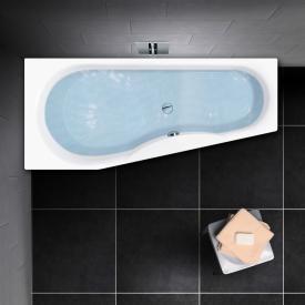 PREMIUM 100 Raumspar-Badewanne, Einbau Länge: 170 cm, Breite: 75 cm, Innentiefe: 46 cm
