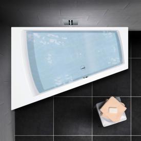 PREMIUM 100 Raumspar-Badewanne Länge: 170 cm, Breite: 110 cm, Innentiefe 46 cm