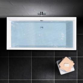 PREMIUM 100 Rechteck-Badewanne, Einbau Länge: 190 cm, Breite: 90 cm, Innentiefe 46 cm