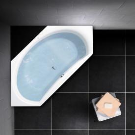 PREMIUM 100 Sechseck-Badewanne, Einbau Länge: 195 cm, Breite: 90 cm