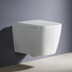 PREMIUM 100 Wand-Tiefspül-WC, spülrandlos, eckig