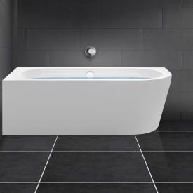 PREMIUM 200 Eck-Badewanne mit Verkleidung mit integrierten Wassereinlauf