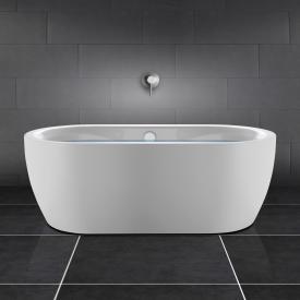 PREMIUM 200 freistehende Oval-Badewanne Länge: 180 cm, Breite: 90 cm