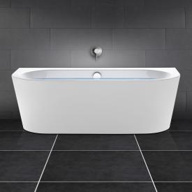 PREMIUM 200 Vorwand-Badewanne Länge: 180 cm, Breite: 80 cm ohne Füllfunktion