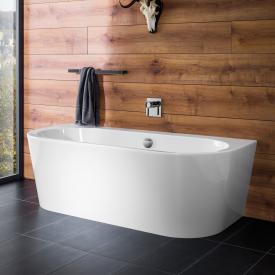 PREMIUM 200 Vorwand-Badewanne mit Verkleidung Länge: 180 cm, Breite: 80 cm ohne Füllfunktion