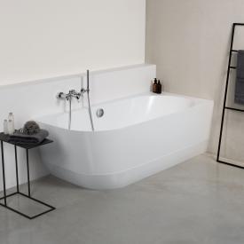 PREMIUM 300 Eck-Badewanne mit Verkleidung