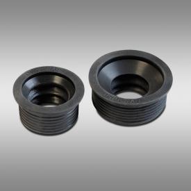 PREMIUM Universal Siphon-Anschluss-Manschetten DN30/50 & DN30/40, für Waschtisch-Siphons