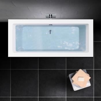 PREMIUM Rechteck-Badewanne Länge: 170 cm, Breite: 75 cm
