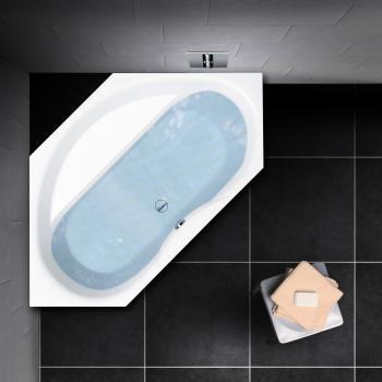 PREMIUM Sechseck-Badewanne Länge: 204 cm, Breite: 108 cm