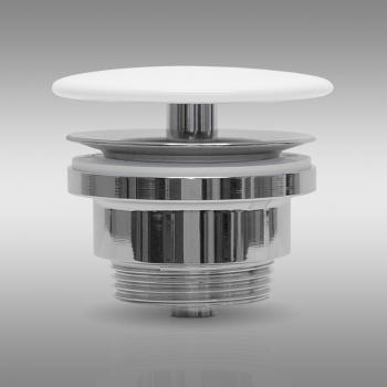 PREMIUM Universal Ablaufventil ohne Staufunktion, mit keramischer Abdeckung