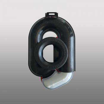 PREMIUM Urinal-Absaug-Siphon, höhenverstellbar um 65 mm, waagerecht