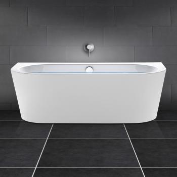 PREMIUM Vorwand-Badewanne Länge: 180 cm, Breite: 80 cm ohne Füllfunktion