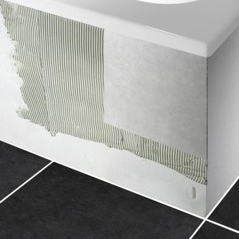 PREMIUM Wannenträger für Sechseck-Badewanne Länge: 195 cm, Breite: 90 cm