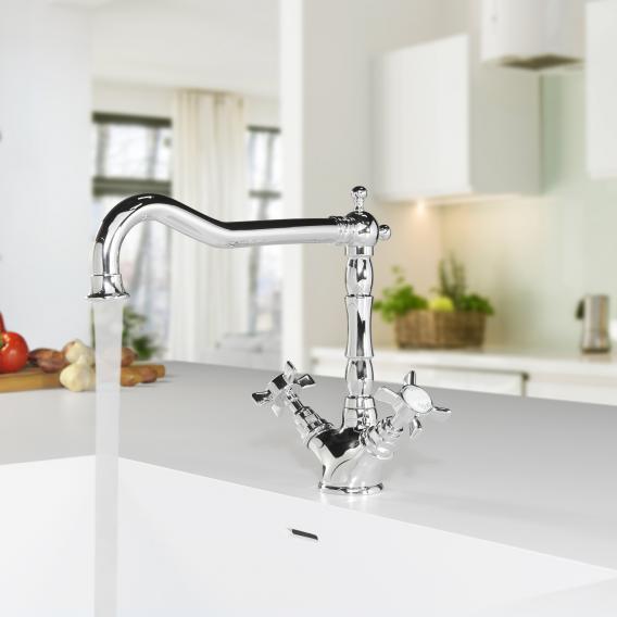 PREMIUM 100 Zweigriff-Küchenarmatur
