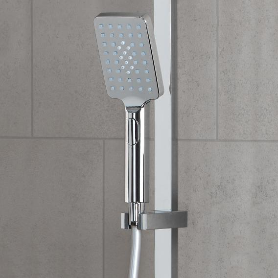 PREMIUM 200 Duschsystem mit Thermostat-Brausebatterie anthrazit