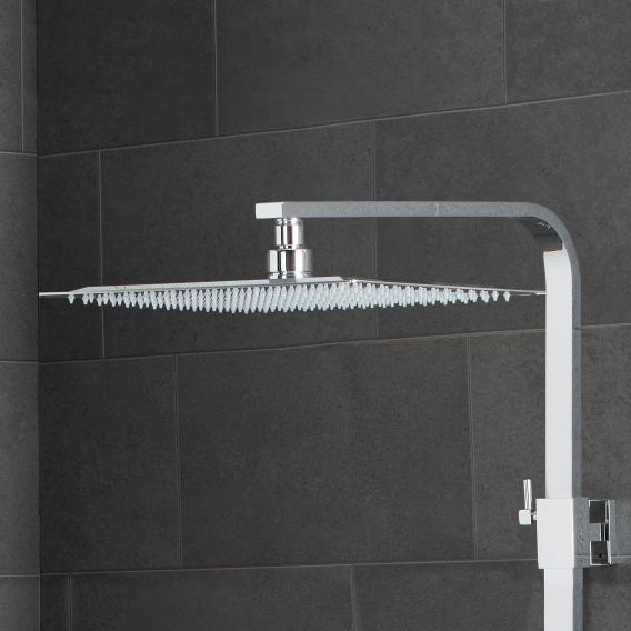 PREMIUM 200 Duschsystem mit Thermostat-Brausebatterie weiß