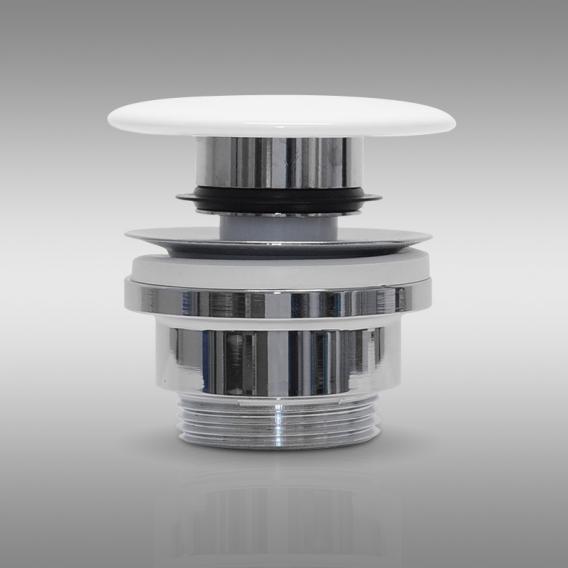 PREMIUM Universal Ablaufventil mit Staufunktion, mit keramischer Abdeckung