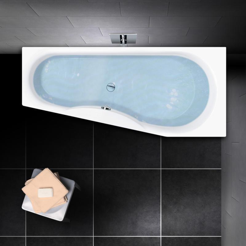 PREMIUM Raumspar-Badewanne Länge: 170 cm, Breite: 75 cm - PR1038 ...