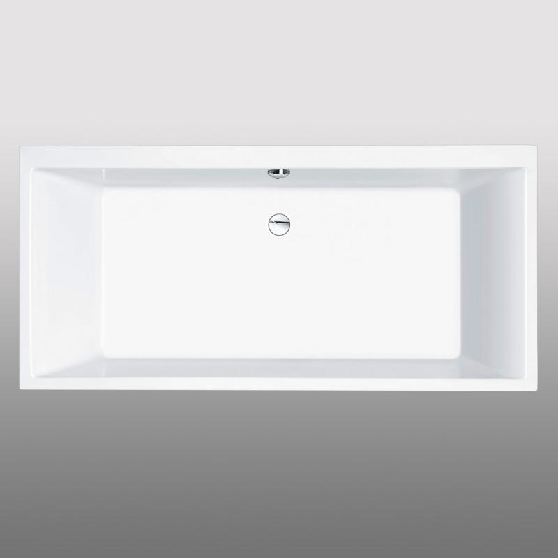 PREMIUM Rechteck-Badewanne Länge: 190 cm, Breite: 90 cm ...